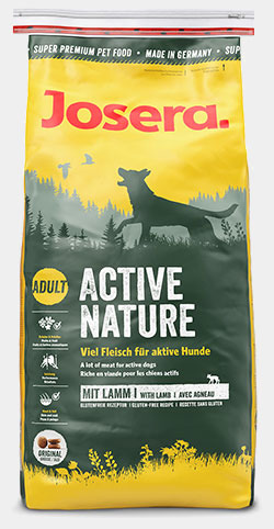 josera hundefutter activenature